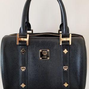 MCM Boston bag - 25 black leather